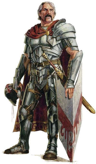 Faith AND armour is even better than faith AS armour